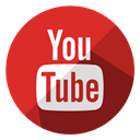 media, Social, Communication, online, internet, video, youtube Crimson icon