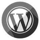 Business, Wordpress, Browser, seo, web, Blogging, internet Gray icon