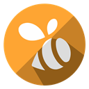 web, Gps, location, share, swarm, Cloud, internet Goldenrod icon