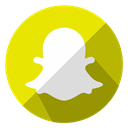 internet, Snapchat, Social, Message, media, Communication, Chat Gold icon