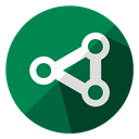 Communication, Browser, web, internet, Connection, share, network SeaGreen icon