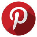 online, shopping, Social, Shop, ecommerce, media, pinterest Firebrick icon