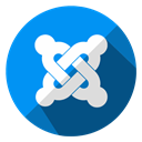 media, network, Joomla, Connection, Communication, Multimedia, Social DodgerBlue icon