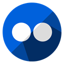 Browser, online, internet, Business, flickr, sharing, web RoyalBlue icon