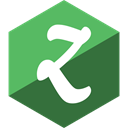 Social, media, zootool, Hexagon, Gloss DarkOliveGreen icon