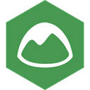 Hexagon, Basecamp, Social, media SeaGreen icon