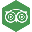 Advisor, Hexagon, Social, trip, media SeaGreen icon