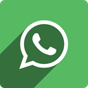 square, Whatsapp, Social, Shadow, media MediumSeaGreen icon