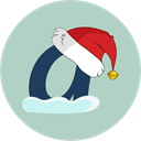 christmas, Ask, Snow, askfm Silver icon