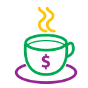 cup, icons, Money, tea, Coffee Black icon