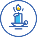 year, новый год, christmas, свеча, new, Candle SteelBlue icon