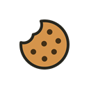 christmas, food, cookie, Holidays, Biscuit Black icon