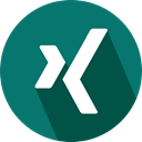 Xing, Logo, social network Teal icon