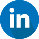 Linkedin, Logo, social network DarkCyan icon