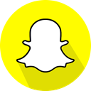 Snapchat, Logo, social network Yellow icon