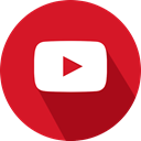 social network, Logo, youtube Crimson icon