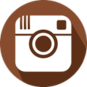 social network, Instagram, Logo SaddleBrown icon