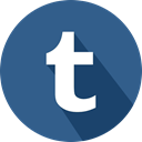 Logo, social network, Tumblr DarkSlateBlue icon