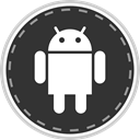 Social, online, media, Android DarkSlateGray icon