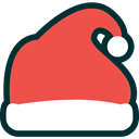 xmas, Holiday, winter, christmas, santa, hat, decoration, Cap Tomato icon