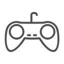 gaming, gaming console icon, gaming console line icon, gaming line icon, Console, gaming icon Black icon