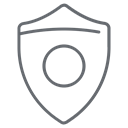 secure, safety, shield, security, protect, Protection, Firewall Black icon