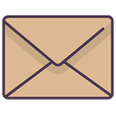 mail, Letter, newsletter, Email, envelope, Message BurlyWood icon