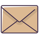 envelope, Message, newsletter, Letter, Email, mail BurlyWood icon