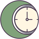 time, watch, Appointment, Schedule, meeting, clock face, Clock DarkSeaGreen icon