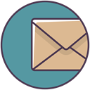 mail, Message, envelope, newsletter, Email, Letter CadetBlue icon