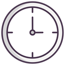 clock face, time, Clock, meeting, Schedule, Appointment, watch DarkSlateGray icon