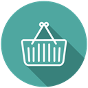 Shop, shopping chart, Basket, Cart, Purchase, shopping CadetBlue icon