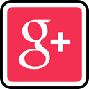 online, media, plus, google, Social Crimson icon