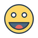 success, happy, person, resolutions, smiley, help, Better Khaki icon