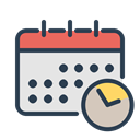 work, resolutions, watch, Schedule, Manage, time, Clock Gainsboro icon