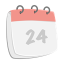 Month, Schedule, xmas, date, Planner, Calendar, event WhiteSmoke icon