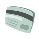 Money, Debit, buy, Credit card, payment method, Purchase, pay Silver icon