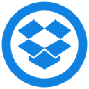 Dropbox icon DodgerBlue icon