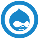 Drupal icon SteelBlue icon