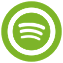 Spotify icon YellowGreen icon