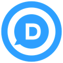 d, disqus icon DodgerBlue icon