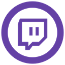 Twitch, twitch.tv icon DarkSlateBlue icon