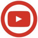 youtube, tube, you, yt icon Firebrick icon