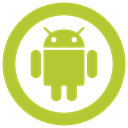 Droid icon, • android YellowGreen icon