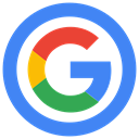 Google icon RoyalBlue icon