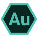 adobe audition, Extension, adobe, Format Black icon