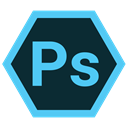 photoshop, Extension, Format, adobe DarkSlateGray icon