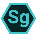 speedgrade, adobe, Extension, Format MediumTurquoise icon