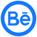 be.net, Behance, Be DodgerBlue icon