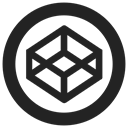 Codepen, codepen.io Black icon